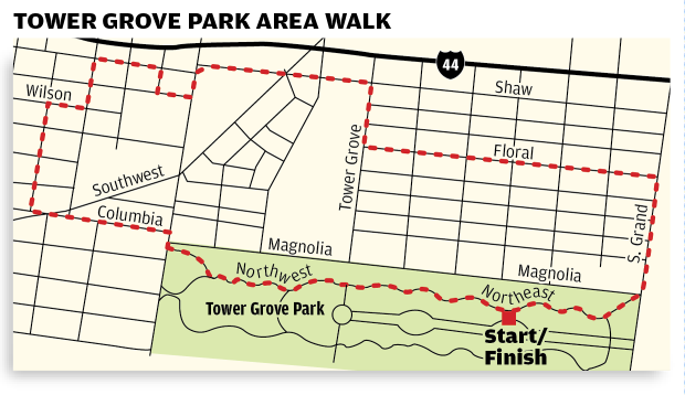 Trail Of The Week Destination Tower Grove Park Stltoday