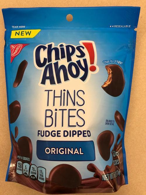 Chips Ahoy! Thin Bites Fudge Dipped