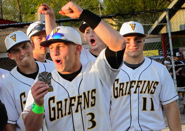 No 1 Vianney Captures Midwest Classic Championship High School Baseball Stltoday Com