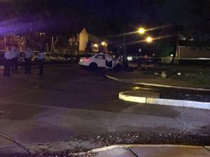 Schüsse führt zu Auto-Wrack in north St. Louis