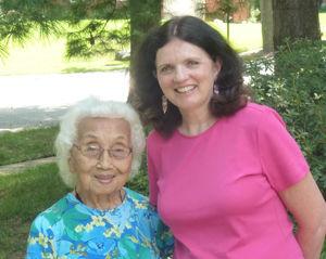 Judy Mundle with Janice Koizumi