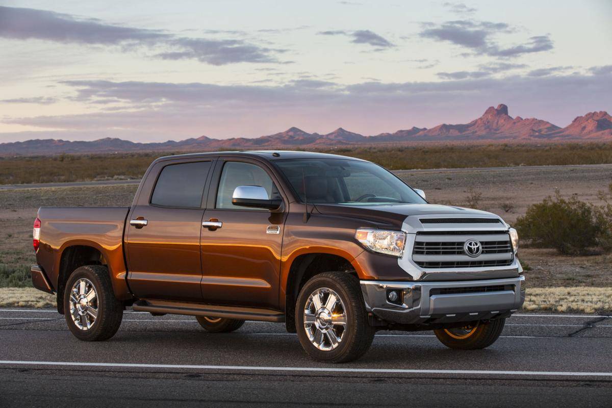 The 1794 Edition Tundra is Toyota's take on the idea of a cowboy-chic pickup.