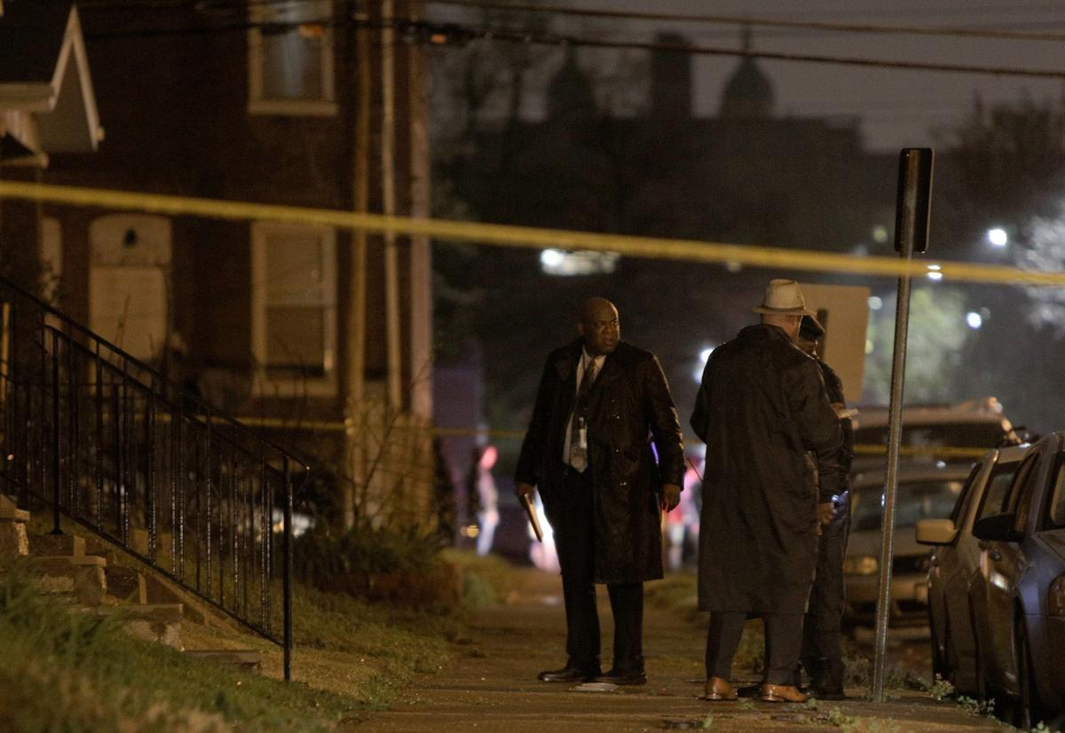 St. Louis officer-involved shooting on Virginia