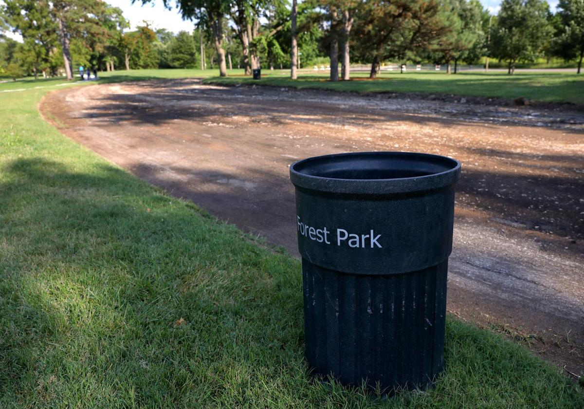 Confederate Drive in Forest Park removed