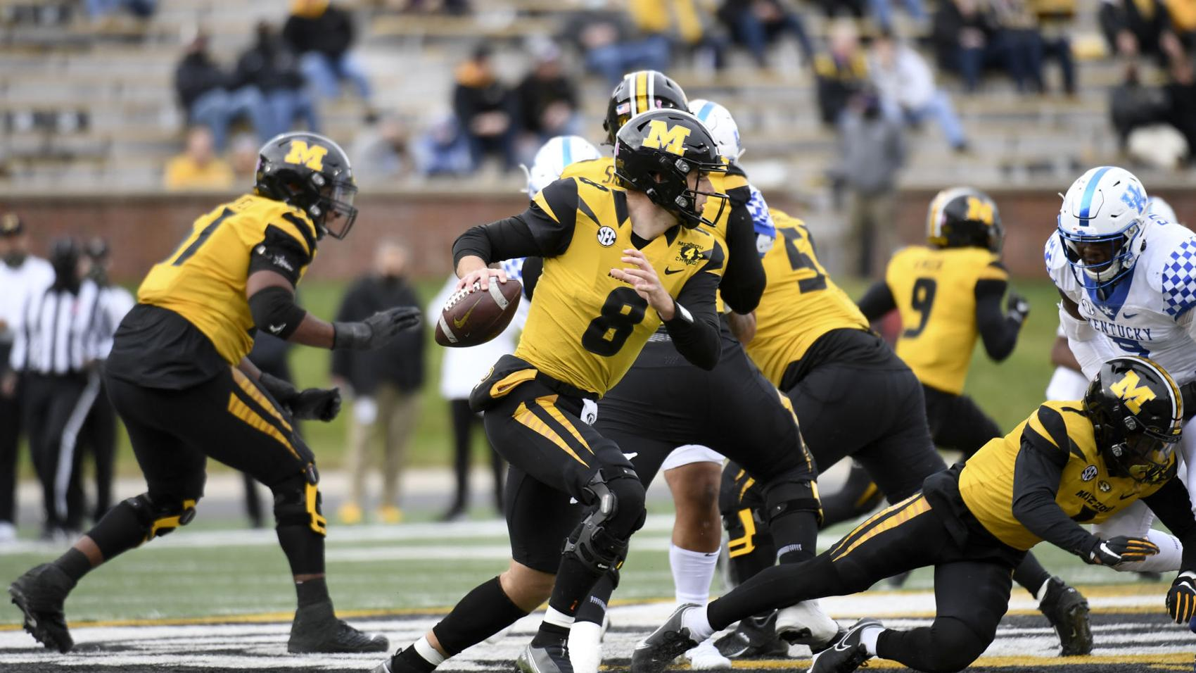 Mizzou's Bazelak doesn't let himself 'get bored' in supporting role vs. Kentucky