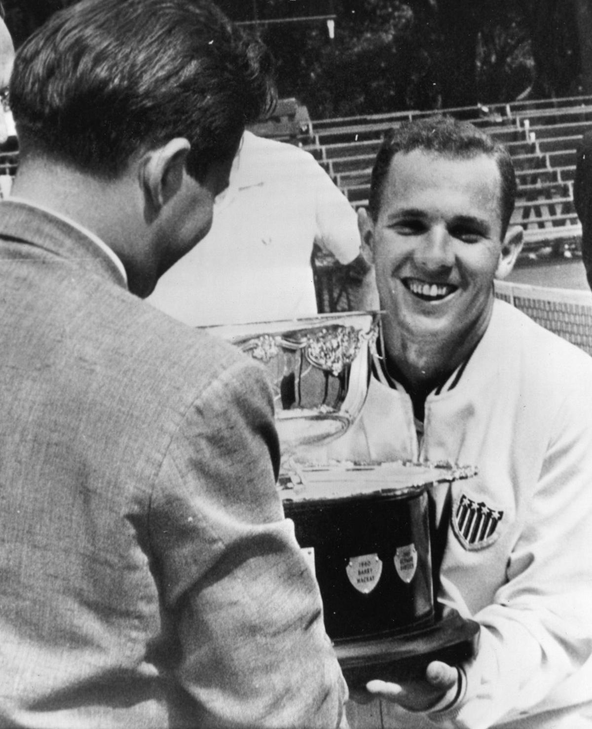 St Louis Wimbledon Champion Chuck McKinley Metro
