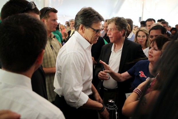 Texas Gov. Rick Perry in Chesterfield, Mo.