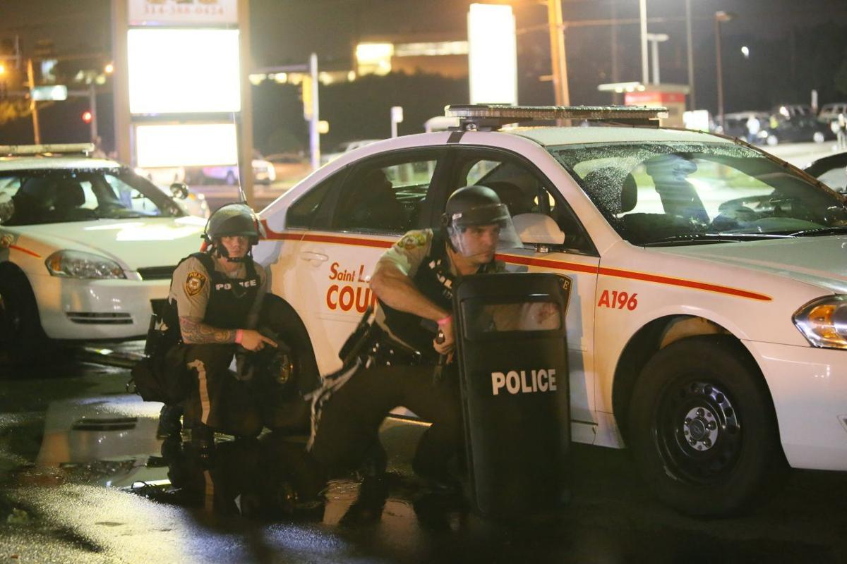Man shot by police in Ferguson after he fired at officers, police ...