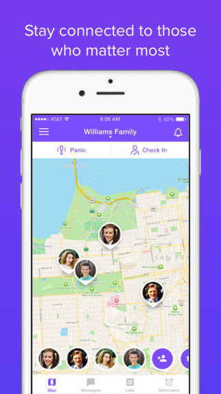 Back to School apps: Life360 Family Locator
