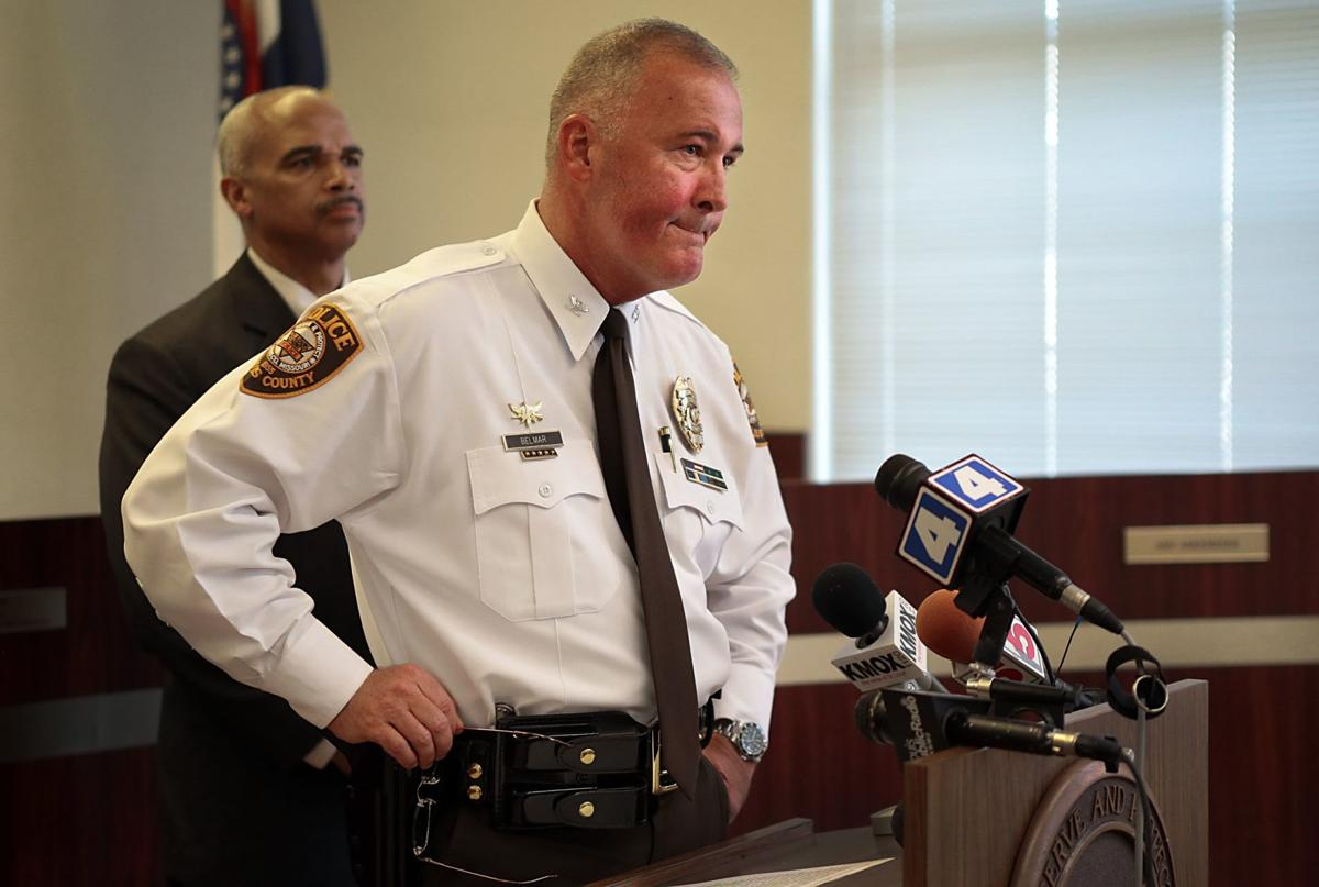 St. Louis County police chief holds news conference