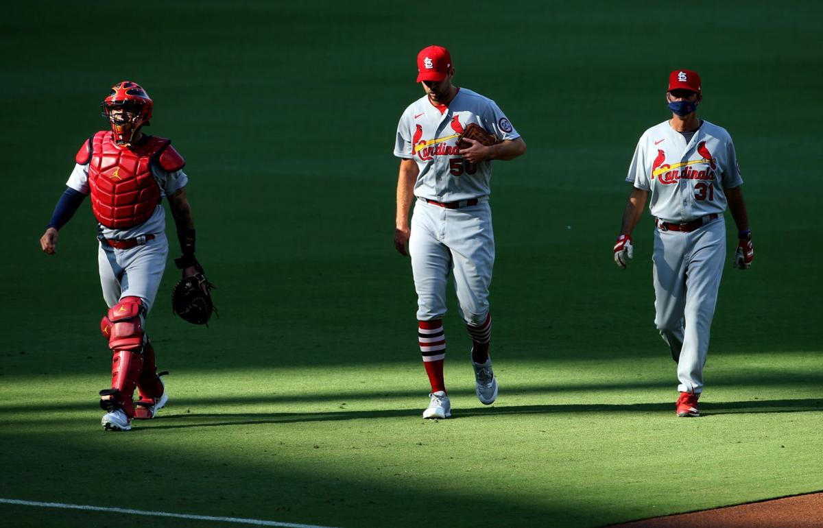 St. Louis Cardinals V San Diego Padres, Game 2 wild-card series