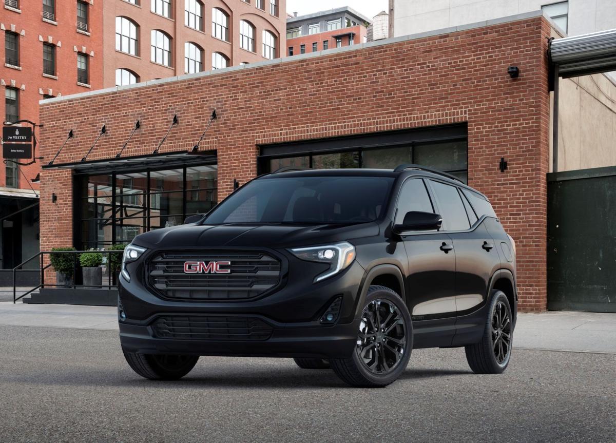 2019 gmc terrain sle black edition