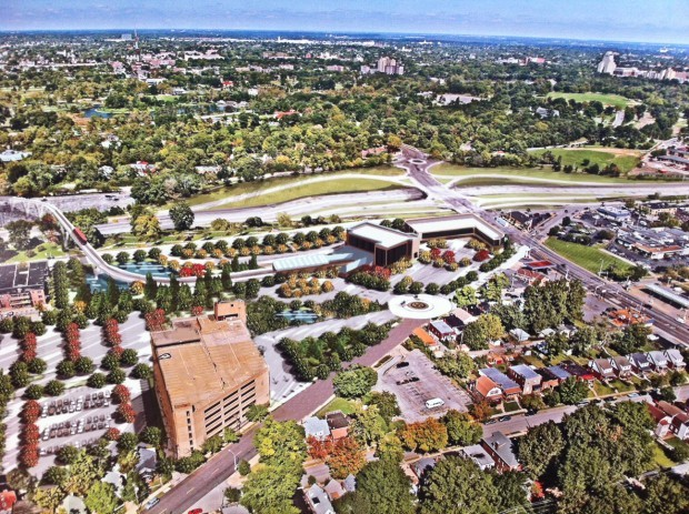 St. Louis Zoo's plan for south campus on site of former Forest Park Hospital