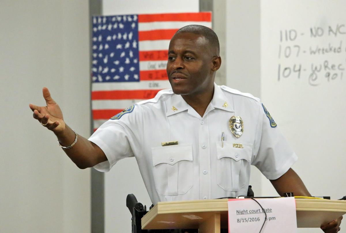 Ferguson police chief resigning, city launching national
