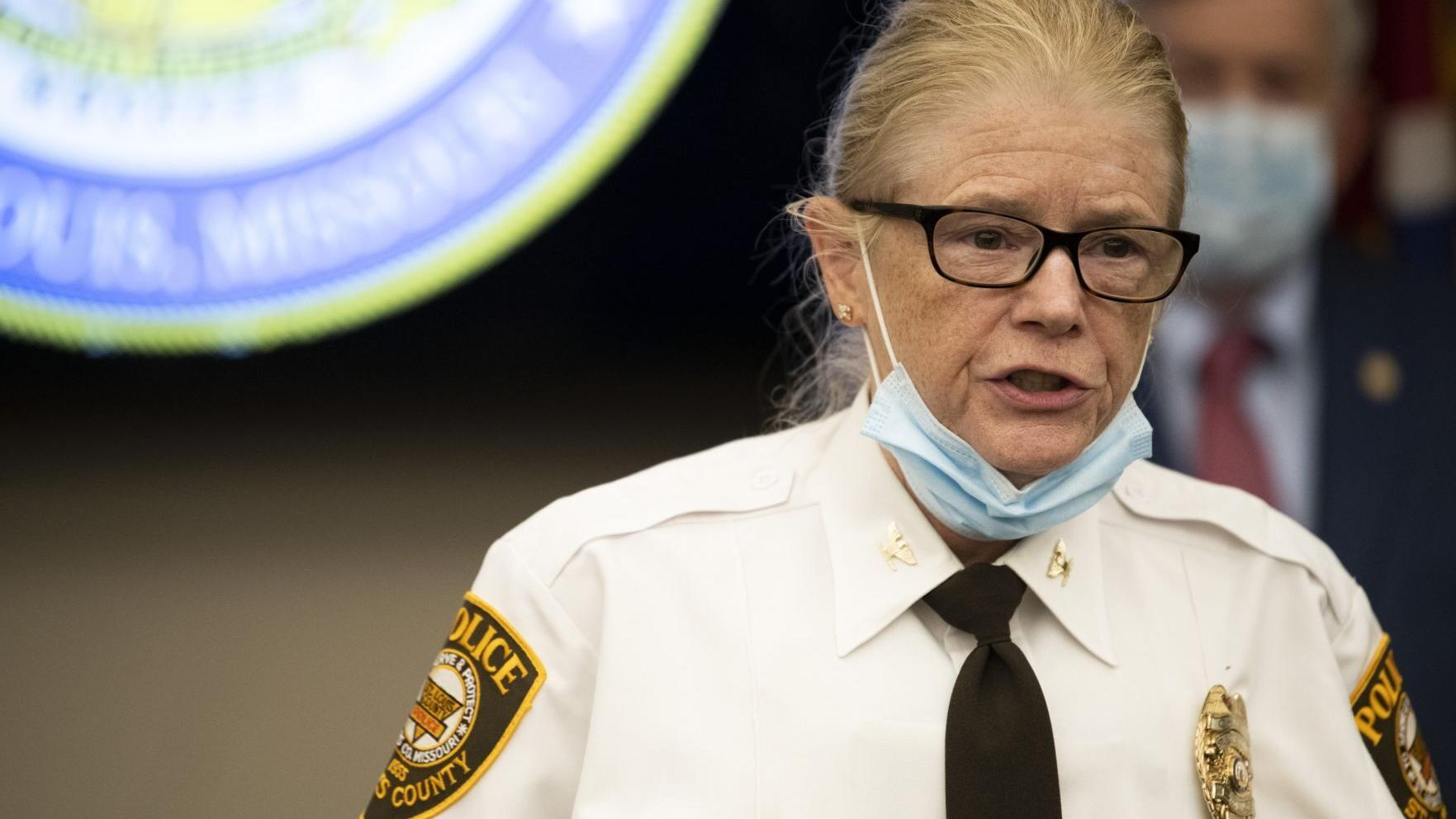 Messenger: St. Louis County Police dispatcher who used racial slur is related to the chief