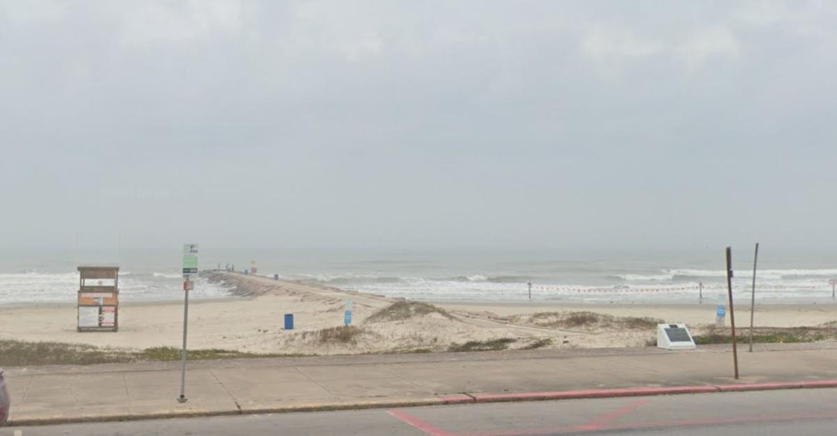 Near 37th and Seawall in Galveston, Texas
