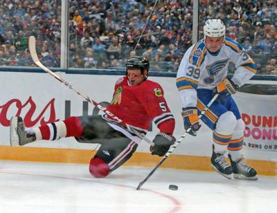 huge discount 78f73 2157b Kelly Chase: Thank you, St. Louis, for Winter Classic warmth ...