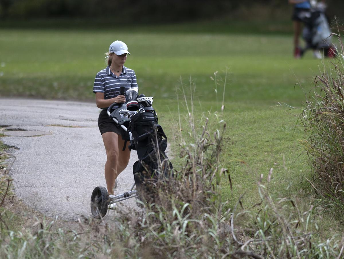 Class 4 District 1 girls golf tournament