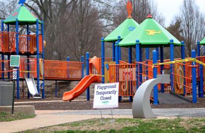 Tilles Park playground closed