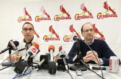 The St. Louis Cardinals at spring training in Jupiter, Fla.