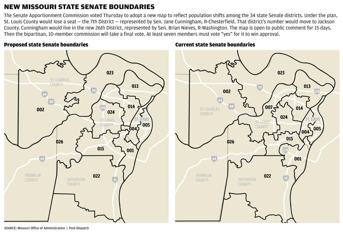 Panel angers St. Louis area Republicans with Senate map ...