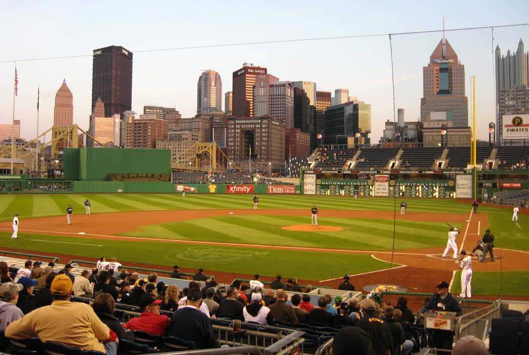 Beautiful PNC Park in Pittsburgh is rarely crowded | Joe's