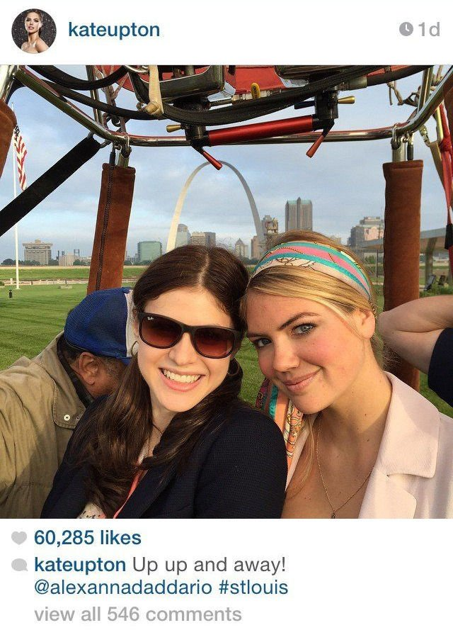 Kate Upton in St. Louis