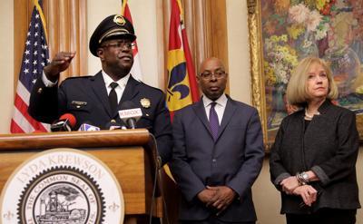 New city of St. Louis police chief, John Hayden