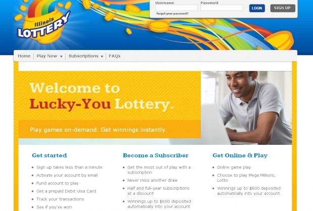 Web sales of lottery tickets no jackpot for illinois for Local online sales websites