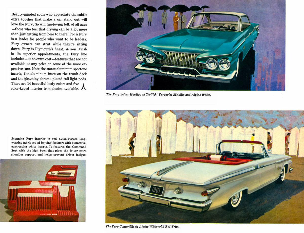 1961 Plymouth Sport Fury You May Call It Odd Its Ok 1960 Color Chips
