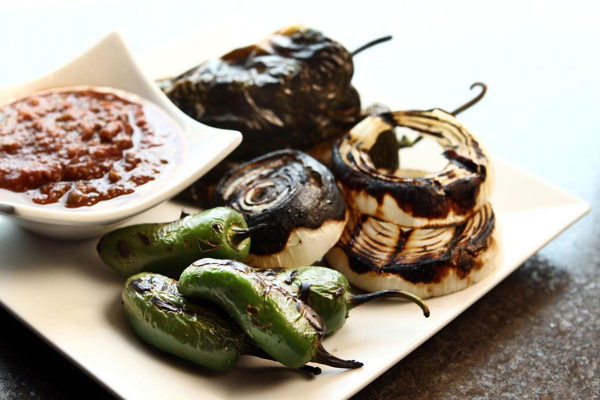 Special Request: Roasted Poblano Salsa from Milagro Modern Mexican
