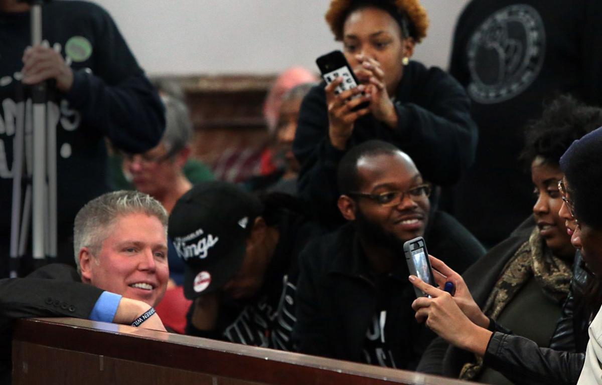 Proposed civilian oversight review board draws crowd to City Halll