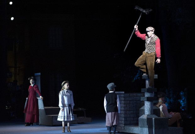 Mary Poppins Takes Off At The Muny Theater Reviews