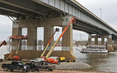Work is Underway on Poplar Street Bridge Expansion
