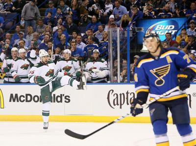 St. Louis Blues v Minnesota Wild Game 1