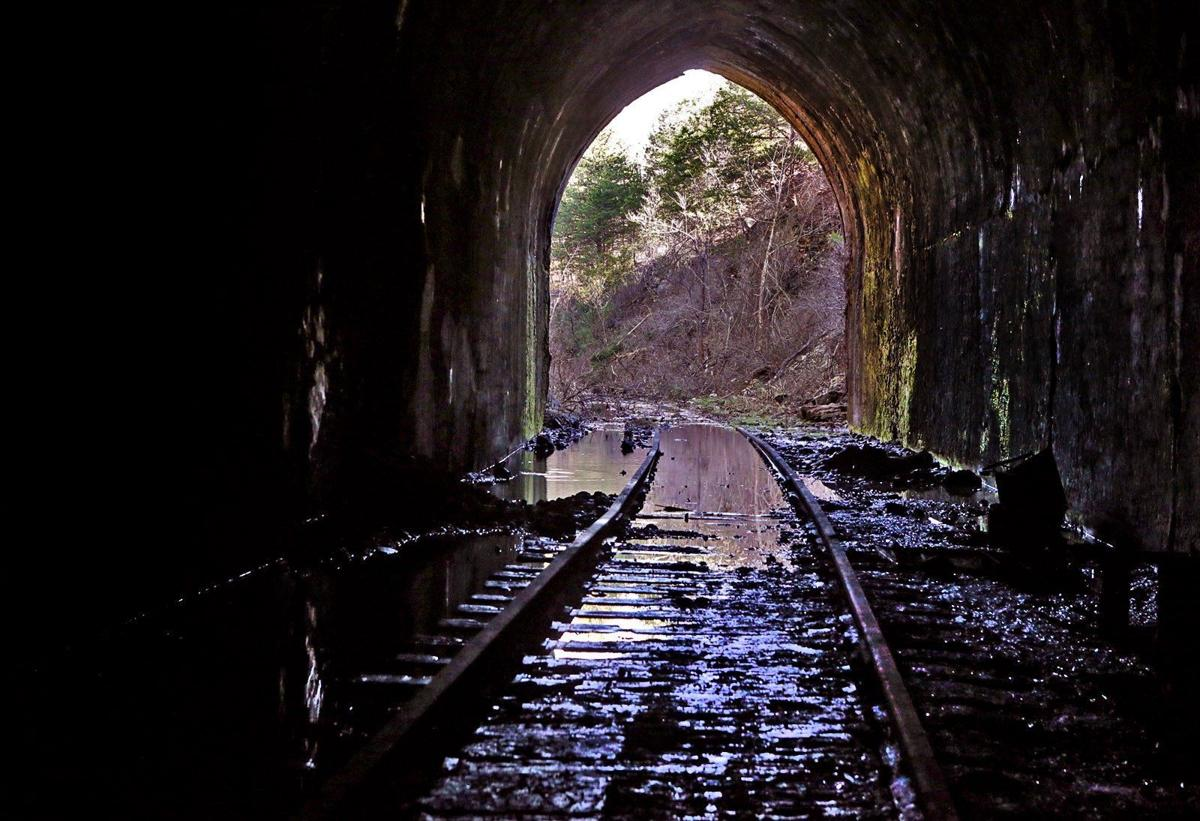 New Rails to Trails project underway in Missouri - Eugene tunnel