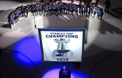 Banner raised, Stanley Cup comes home