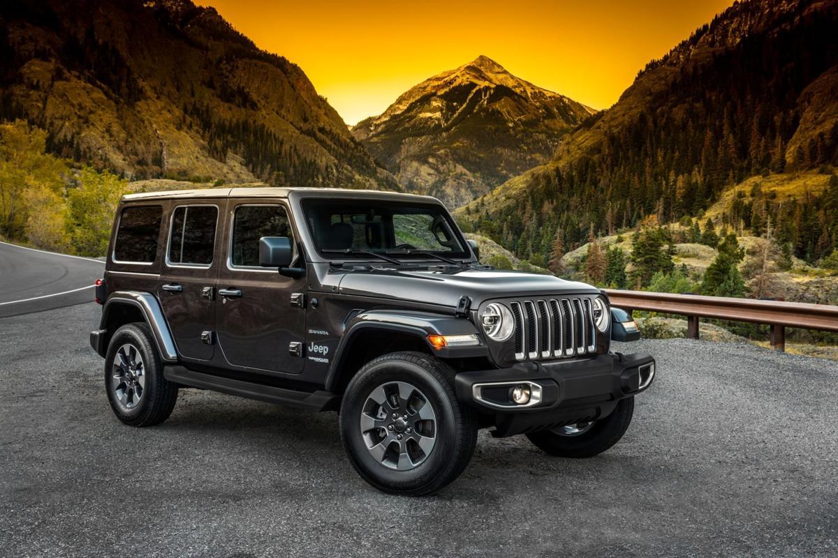 All New 2018 Jeep Wrangler Sahara