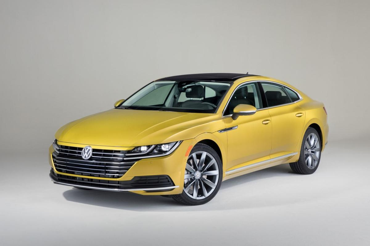 Styled Like A Coupe The Four Door Volkswagen Arteon Offered With Front Or All Wheel Drive Is Spiritual Successor To Cc