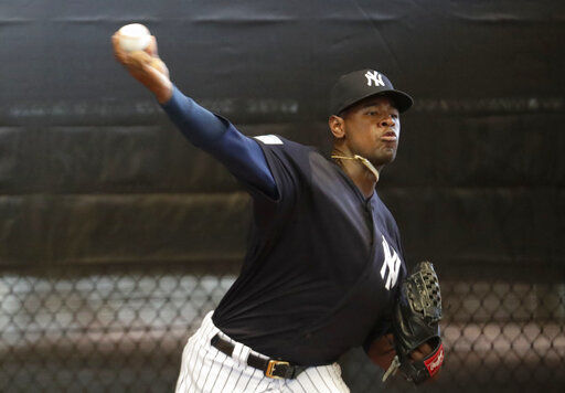 Baseball notebook: Severino gets big deal with Yankees