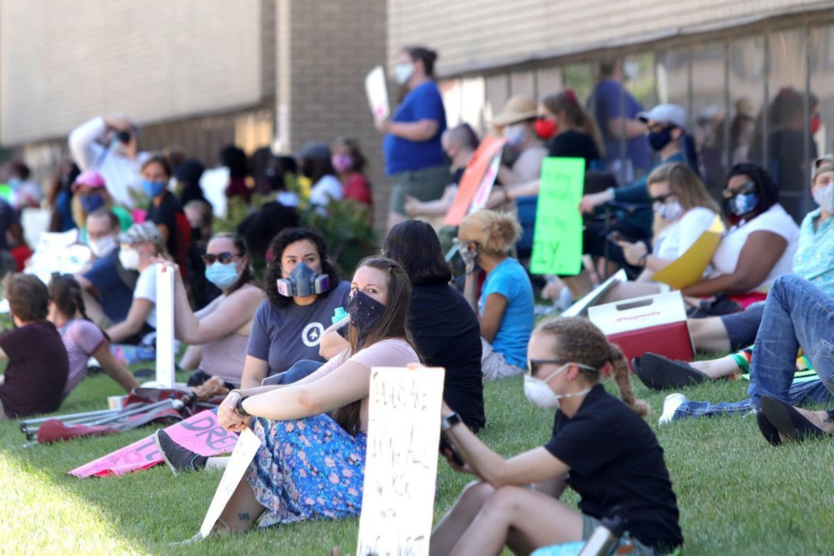 St. Louis Public School teachers hold sit-in