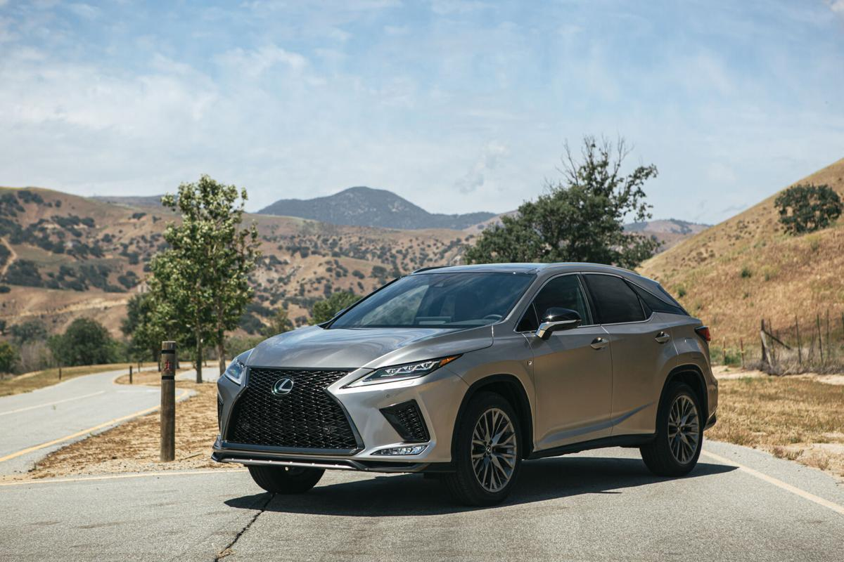 Among the 2020 RX 350's improvements are styling enhancements and upgrades in its infotainment interface.