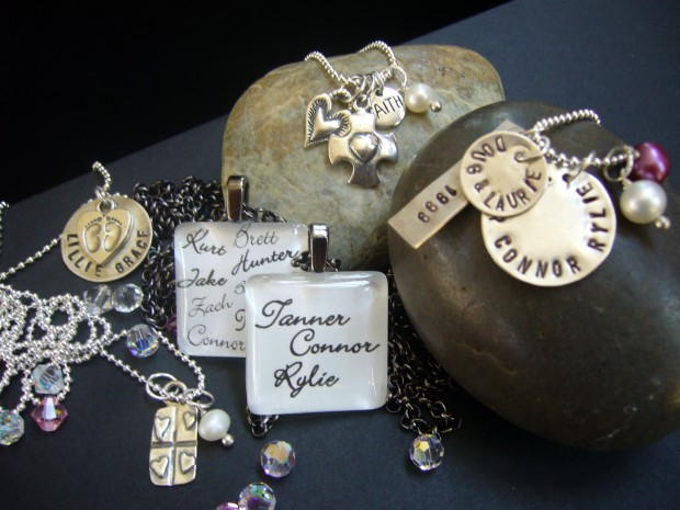 Made in st louis affordable hand stamped jewelry for How to make hand stamped jewelry