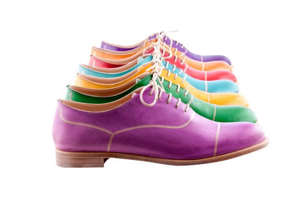 Colorful oxfords