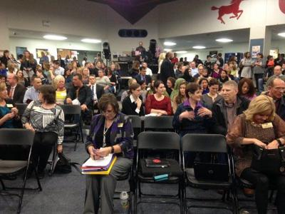 Parkway School Board meeting