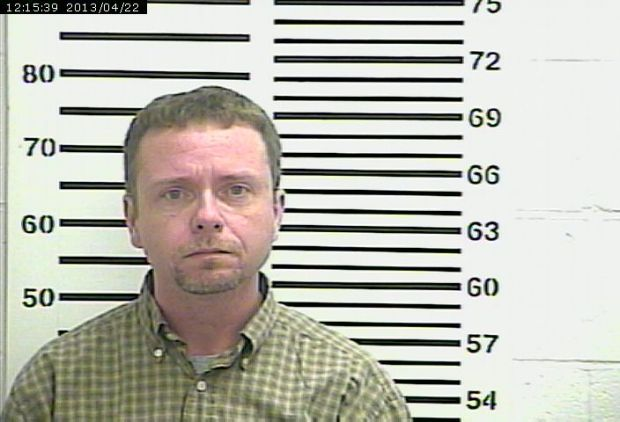 Moyers booking photo April 2013
