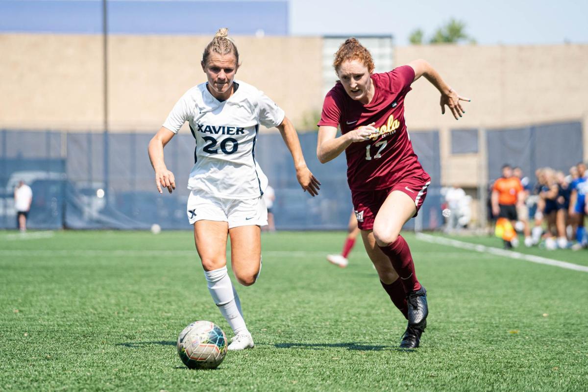 Grace Brauer, Xavier soccer