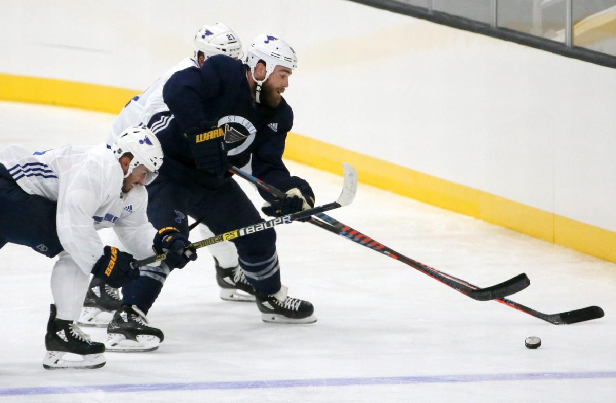 Fabbri gets first chance to make his case in Blues' first exhibition