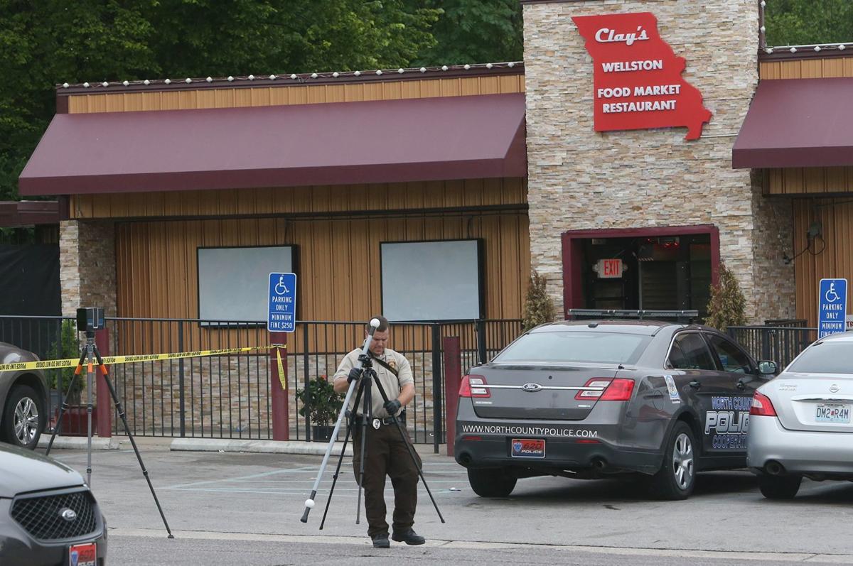 Police officer shot inside Wellston market