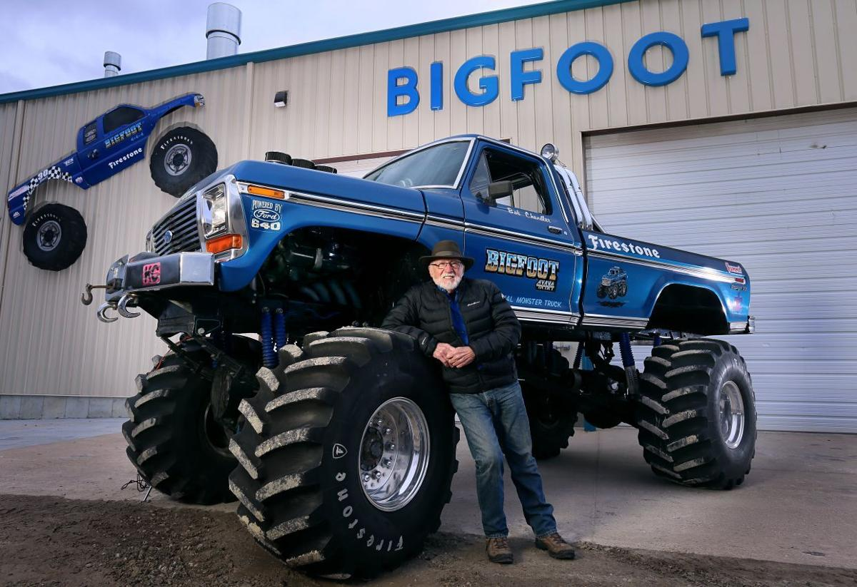 Bigfoot monster truck in Pacific